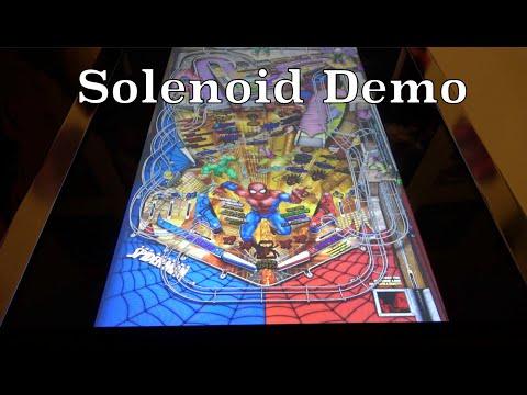 Solenoid Demo | Arcade1Up Marvel Pinball from Original Console Gamer