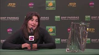 Bianca Andreescu Finals Post-Match Press Conference