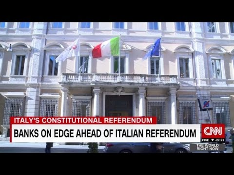 Banks on edge ahead of Italian referendum