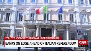 Banks on edge ahead of Italian referendum