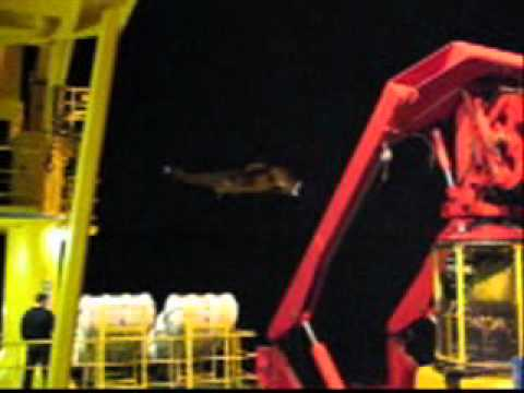 Rescue team  Talisman Blane Projekt 2007, Subsea7 and Edda Fjord
