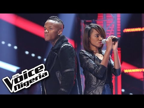 Viveeyan vs Armstrong sing 'Counting Stars' / The Battles / The Voice Nigeria 2016