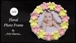 Photo Frame DIY Idea / Picture Frame Making Tutorial | Priti Sharma