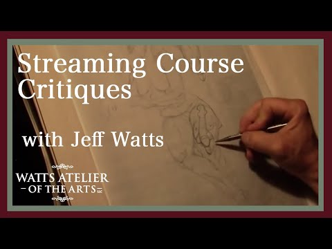 Watts Atelier Streaming Course Critique, With Jeff Watts