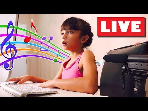 บรีแอนน่าร้องเพลงสด! Brianna singing live!