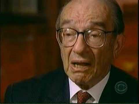 alan greenspan on george w. bush, taxcuts, and cheney