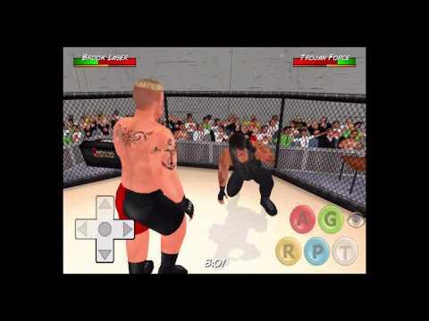Lesnar vs roman reigns ufc fight wrestling revolution 3d youtube