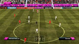 Fifa 12 Euro 2012 : Germany vs Portugal 2nd Half [gameplay PC] HD1080p