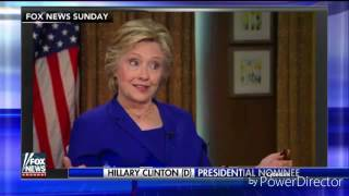 *EXCLUSIVE*  Hillary Clinton caught shape-shifting on live television during Fox interview