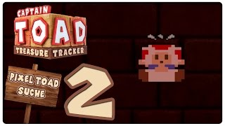 Let's Play CAPTAIN TOAD: TREASURE TRACKER - TOAD AMIIBO DLC Part 2: Weitere 8-Bit Toads