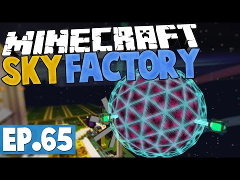 Minecraft Sky Factory 2.5 - TIER 7 ENERGY CORE! #65 [Modded