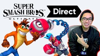 NEW CHARACTERS, STAGES, & MORE?! - Smash Bros. Direct Announced!
