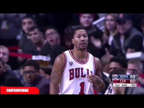 Washington Wizards at Chicago Bulls (2016/01/11) - Full Highlights - NBA 2015-16 Season
