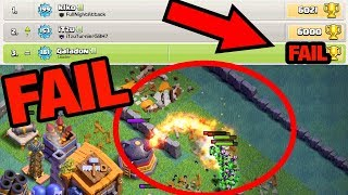 DON'T Let This Happen to YOU! Clash of Clans Quest to 6000 Episode 3!