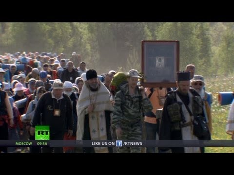 Sacred Road: Oldest, longest & biggest pilgrimage in Russia (RT Documentary)