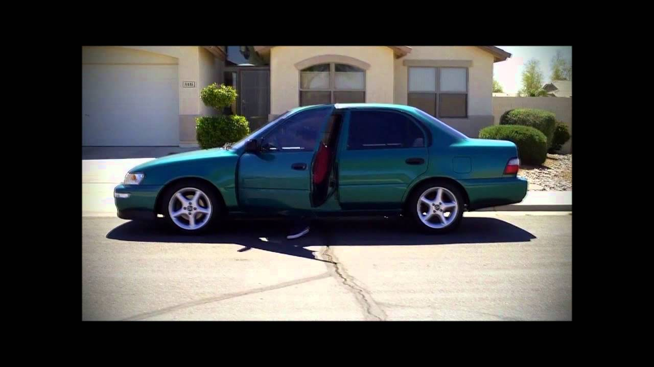Ae101 Corolla Morning Rush Hd Youtube
