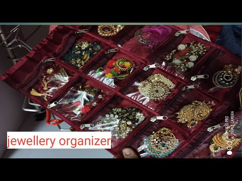 Small jewellery organiser