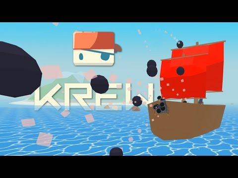 Krew - Sinking The Biggest Ship! - Krew.io Gameplay - Multiplayer Raft Game
