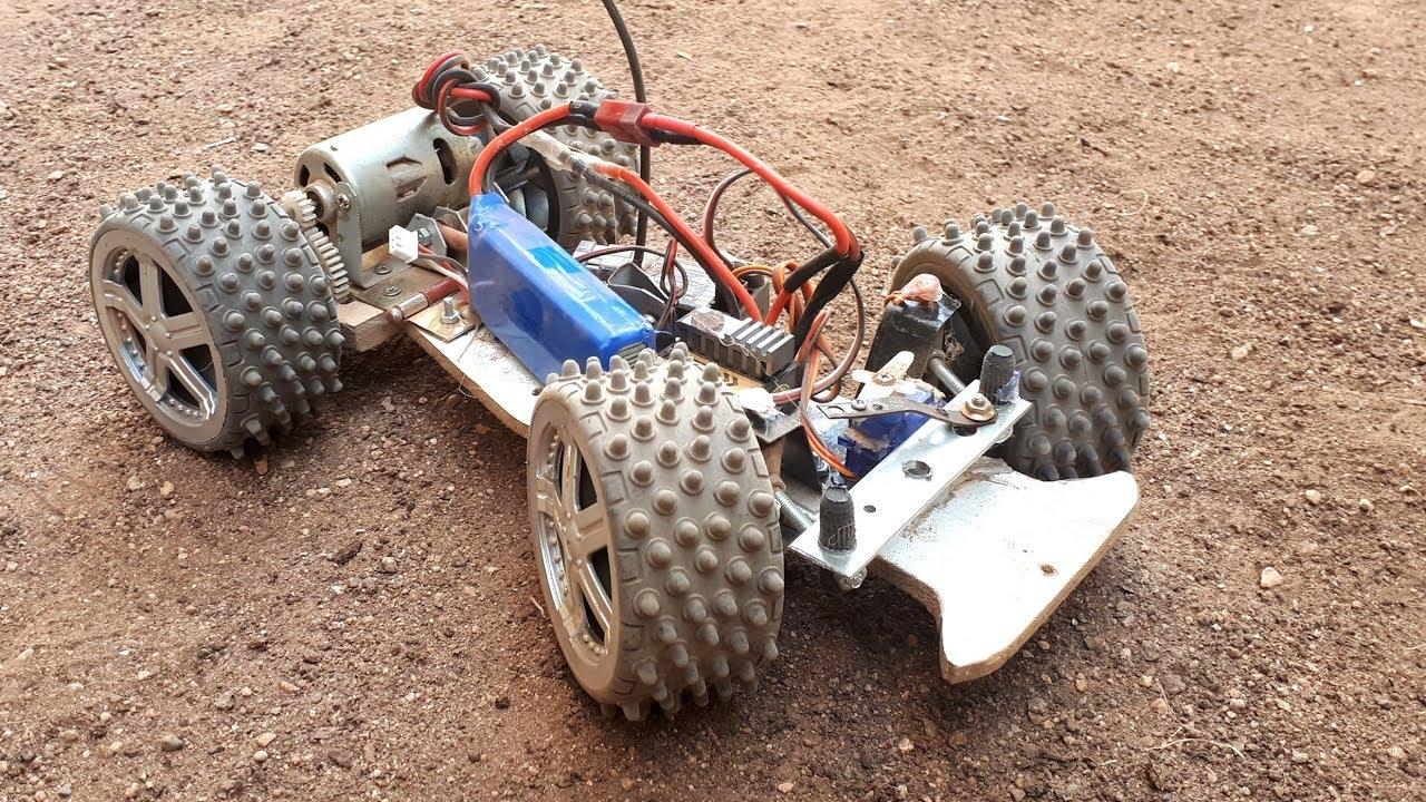 Amazing DIY Off Road Monster Car - Ev Yapımı Arazi Aracı