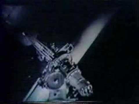 Obscure space cartoon  with Polaris Rocket from 1950's TV!