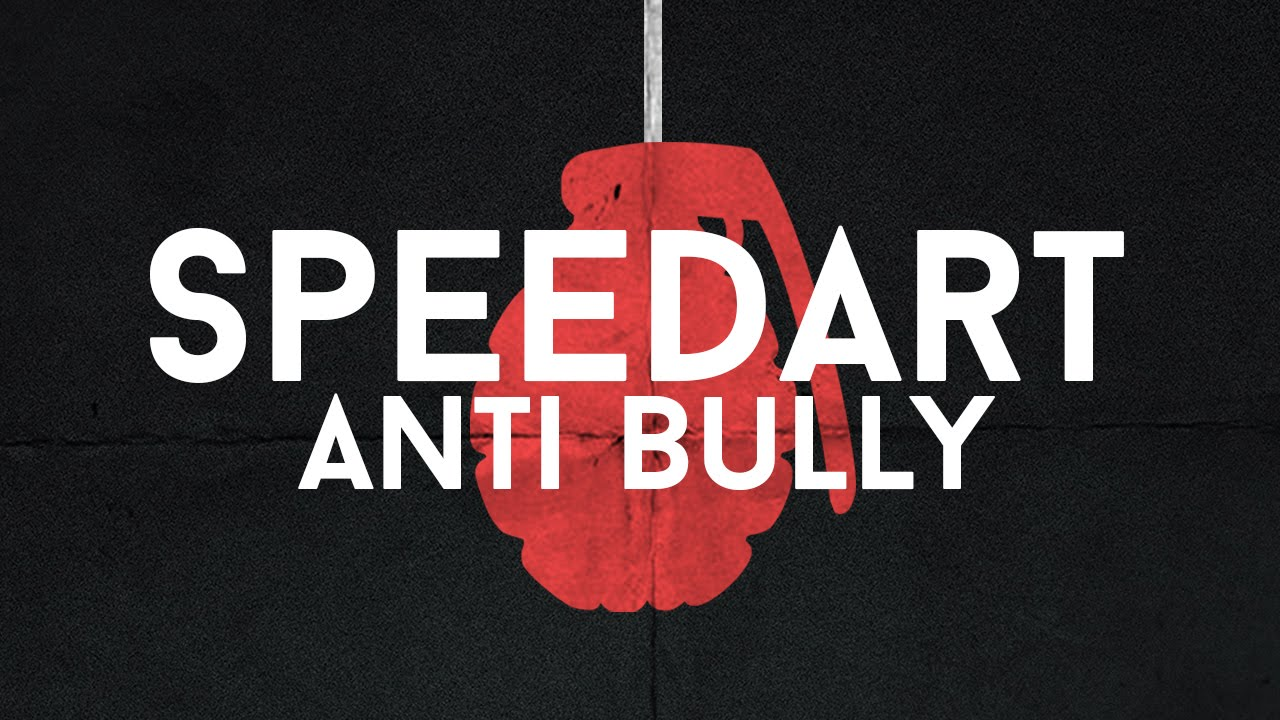 Anti Bullying Poster Photoshop Speed Art Youtube