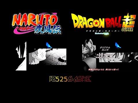 【MAD】Dragon Ball Super Vs Naruto Shippuden 「Blue Bird」