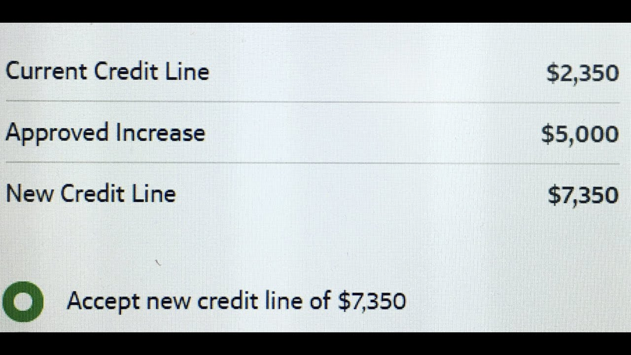 $8,8 Credit Limit Increase from Capital One! -Why now is the best time for a limit increase.