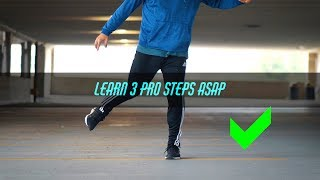 Learn to Shuffle More Pro Easy - 3 Intermediate Steps In Only 5 Minutes