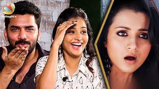 Trisha'va Kiss Pannanum : Kavin and Ramya Nambeesan Interview | Natpuna Ennanu Theriyuma Movie