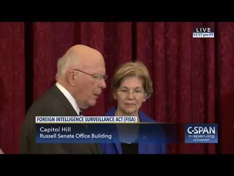Rand Paul & Elizabeth Warren Stand Together Against FISA Along With Other Senators