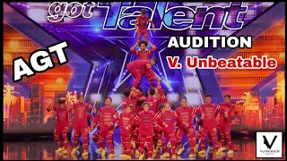 Download lagu V Unbeatable | Agt 14 | Audition.