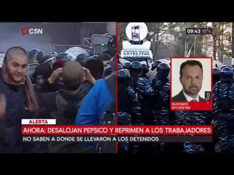 Análisis de Gustavo Sylvestre tras el desalojo de PepsiCo y la represión a los trabajadores