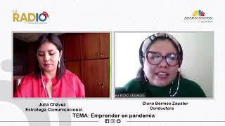 Entrevista a Julia Chávez, comunicadora corporativa para el emprendimiento, fundadora de Bunker Agencia Consultora y del proyecto Inspira