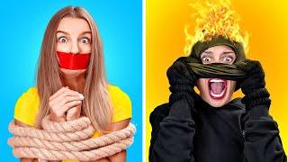 EVDE YALNIZKEN YAPILAN ŞAKALAR    123 GO! Komik Savunma Tuzakları Ve Yalnızken Uygulanacak Taktikler