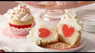 Cupcake con cuore,Ricetta semplice per San Valentino