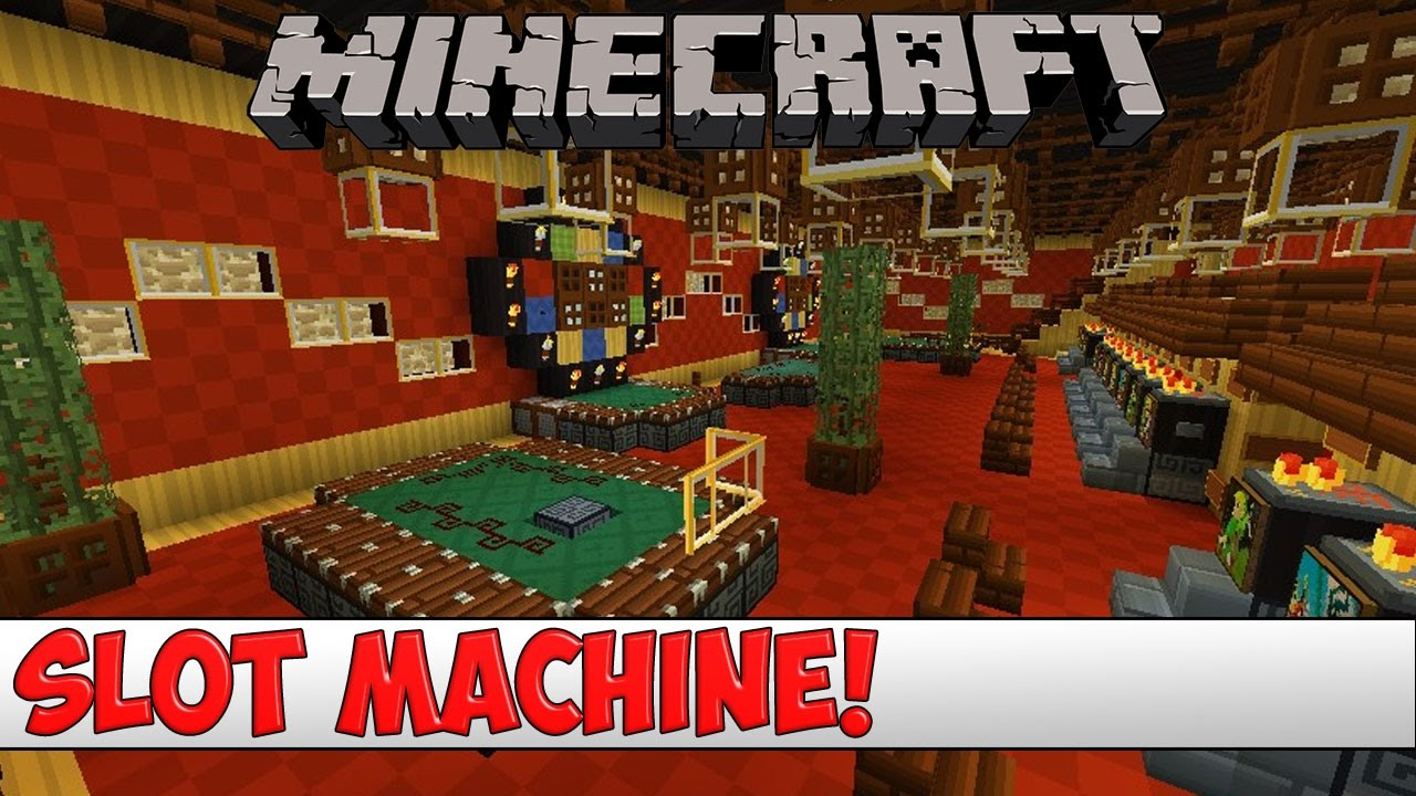 Minecraft Slot Machine Mod 1.12