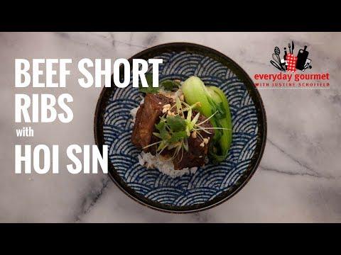 Beef Short Ribs in Hoisin   Everyday Gourmet S6 E1