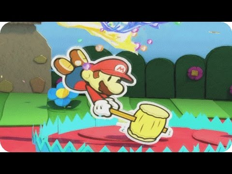 Paper Mario Color Splash - Gameplay Walkthrough Part 2