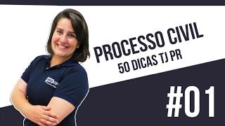 Processo Civil - Atos processuais: Da forma e das nulidades - 50 dicas para TJPR #01 - AEP