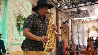 Gundello emundo telugu song Instrumental on Saxophone by SJ Prasanna (9243104505 , Bangalore) .