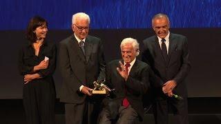 French actor Belmondo receives Golden Lion in Venice
