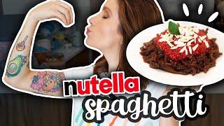 SPAGHETTI DE NUTELLA | DACOSTA'S BAKERY