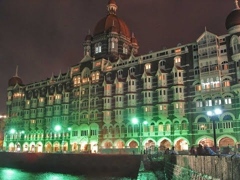 The Taj Mahal Palace Five Star Luxury Hotel in Mumbai (Colaba) near Gateway of India