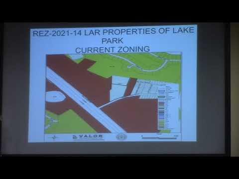 7.a. REZ-2021-14 LAR Properties of Lake Park