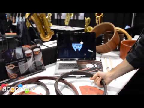 NAMM 2014 - Pastorio Drums