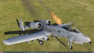 DCS A 10A Custom Ground Attack Mission