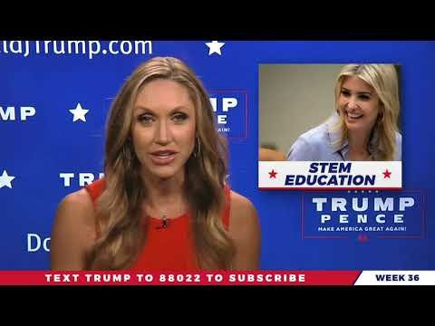 WATCH: Lara Trump Gives You Weekly Update On The Real News on President Donald Trump