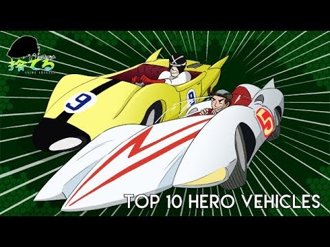 Anime Abandon: Top 10 Hero Vehicles