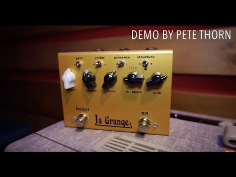 Bogner La Grange overdrive, demo by Pete Thorn