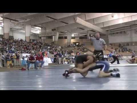 State Wrestling Tournament Feb. 13, 2015